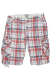pantalones cortos del cargo de los hombres 100%Cotton para el deporte ocasional