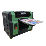 UV 인쇄 기계 가격을 동시에 인쇄하는 더 싼 가격 A3 크기 백색과 색깔 잉크