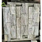 Pietra allentata della sporgenza dell'ardesia naturale all'ingrosso della fabbrica per le mattonelle della parete
