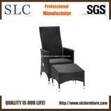 Стул стула ротанга установленный Wicker напольный/архаический стул (SC-B8886)