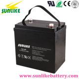 Batería solar profunda de la batería de plomo del AGM del ciclo de la larga vida 6V100ah