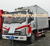 Kühlraum-LKW/kühlerer Van für Frischgemüse und Milch