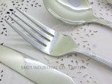 Vaisselle plate d'acier inoxydable 18/10 couvert d'acier inoxydable