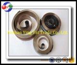 Resorte espiral plano, resorte espiral, fabricante del resorte/completamente resortes del reloj del puerto deportivo