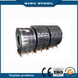 Prime Tinplate Steel Coil com 2.8 / 2.8g Tin Coating, Stone Finish