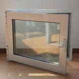 Qualitäts-weißes Farben-Puder-überzogenes Aluminiumprofil-Flügelfenster-Fenster mit multi Verschluss K03007