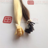 Capelli umani di Remy dei capelli di punta piana Pre-Legata di estensioni