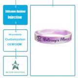 Kundenspezifisches Silikon-Gummi-Produkt-förderndes Geschenk-Silikon-Armband-Uhrenarmband Brücke-Silikon-Einspritzung-Formteil