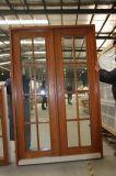 Finestra di alluminio dell'otturatore