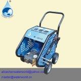 Producto de limpieza de discos de alta presión de la bomba de agua de la máquina de la limpieza del tubo