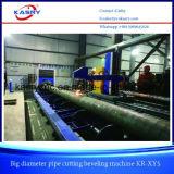 파이프라인 기업 Kr Xym5에 사용되는 1000mm 직경 관 CNC 플라스마 프레임 절단 경사지는 기계