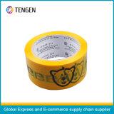 Cinta adhesiva modificada para requisitos particulares del embalaje de BOPP con la adherencia fuerte