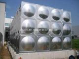 Réservoir d'eau sectionnel d'usine de réservoir d'eau d'acier inoxydable de qualité supérieur