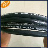 Tubulação hidráulica de alta pressão flexível/cabo flexível/tubulação de borracha