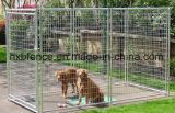 Гальванизированная напольная временно псарня собаки загородки