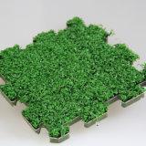 도매 장식적인 인공적인 잔디 매트 수수께끼 매트