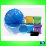 Wegwerf-HDPE flechten Beutel auf Rolle für Abfall-Ansammlung