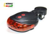 Luz de la bicicleta LED, piezas de la bicicleta de la lámpara del laser
