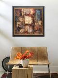 Abstracte Olie Pianting met Frame (ADA9185)