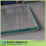 2017 Qualität 6mm milderte niedrigen Eisen-Glas-Preis
