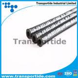 R2 lisciano/il tubo flessibile idraulico ad alta pressione di gomma industria di superficie del panno