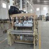 Máquina de alta velocidade do tear do jato de água da tela do poliéster de China com derramamento da came