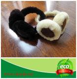 Manicotto dell'orecchio della pelliccia dell'agnello
