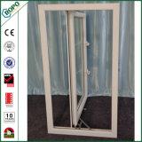 Finestra francese UV su anti di UPVC, doppia finestra della stoffa per tendine della lastra di vetro
