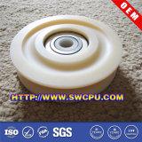 Polia plástica personalizada do rolo do sistema de transmissão do V-Belt (SWCPU-P-R464)