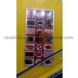 卸し売りLED細いポスターフレームのライトボックスの表示