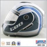 Doubel 챙 (LP501)를 가진 기관자전차 라이더를 위한 헬멧 높은 쪽으로 손가락으로 튀김