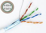 Câble approuvé de ftp Cat5e d'UL/CE/RoHS/ISO