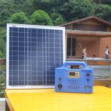 150W sistema de iluminación de la batería solar LED con el Modificar-Seno-Agitar-Inversor