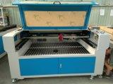Máquina de gravura de madeira acrílica de alumínio de aço do laser do CNC do vidro R-1390