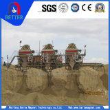 Separator van Ctg van de reeks de Droge Magnetische voor de Machine van de Mijnbouw met de Apparatuur van het Vervoer van de Trommel