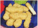 De Goudklompjes van de kip en het Pasteitje die van de Hamburger Machine vormen