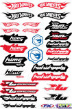 Custom Self Adhesive Vinyl Cars Sticker, Car Decal