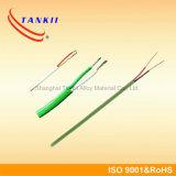 200 de silicone graus de tipo isolado cabo da resina K de extensão de par termoeléctrico