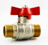 Robinet à tournant sphérique de l'eau et de gaz (YM-101036)