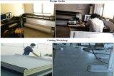 Hersteller-lange Hülsen-Freizeit-Form-Frauen-Denim-Jean-Umhüllung