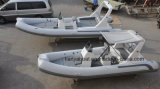 PVC Hypalon漕艇5.2mの安い価格の膨脹可能なボートの肋骨