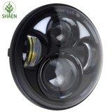 5.75 linterna redonda de la pulgada 40W LED para la motocicleta