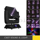 Populäres 25PCS bewegliches Hauptträger-Licht der Matrix-LED mit Wäsche-Effekt