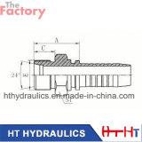 Maquinaria do CNC para o encaixe de mangueira hidráulico com padrão de Eaton (10411)