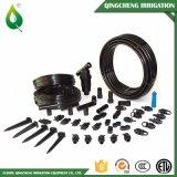 0.6MPa tuyau de arrosage noir d'irrigation de PVC Layflat