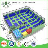Эластичная резиновая лента Xiaofeixia Huge Trampoline с Basketball, Foam Pit