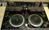 Serie del centímetro cúbico, 2 cabina estándar profesional del amplificador de potencia de los canales 2u (CC3200) - tarjeta blanca
