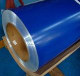 Bobina de aço revestida cor galvanizada Pre-Painted da folha (PPGI)