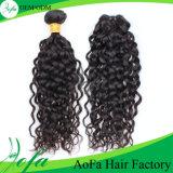 Extensão do cabelo de Remy do Virgin do cabelo humano dos Peruvian 100%