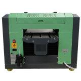 Un precio ULTRAVIOLETA más barato de la impresora de la impresión de tinta del blanco y del color de la talla del precio A3 simultáneamente